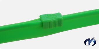 緑色チャック(PVC)写真
