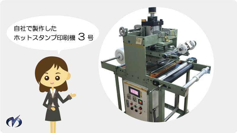 ホットスタンプ印刷機