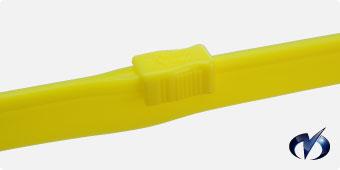 黄色チャック(PVC)写真