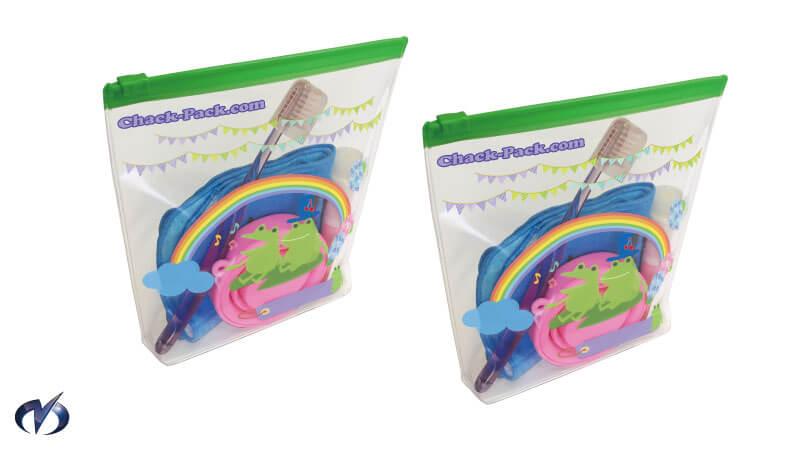 フルカラー印刷(歯ブラシセットケース)
